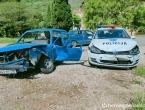 Sudar osobnog i policijskog Golfa u Rodoču, ozlijeđene dvije osobe