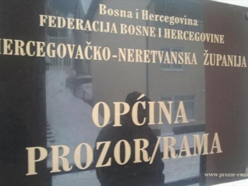 Natječaj za posao u općini Prozor-Rama - Tri namještenika