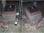 Razbijen križ na spomen-obilježju poginulom hrvatskom branitelju