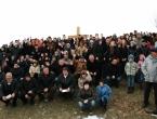 """FOTO: Travnički sjemeništarci na Uzdolu i uzdolskoj """"Kalvariji"""""""