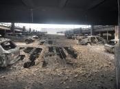 U garaži izgorjelo 1400 automobila