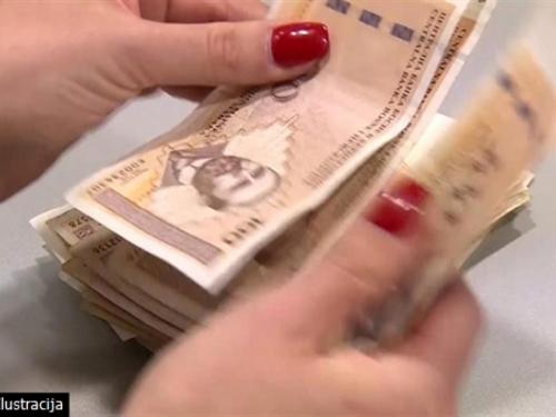 Prosječna isplaćena neto plaća u Federaciji BiH za 2016. godinu 839 KM