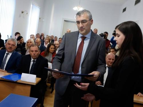 Zastupnici iz Rame položili prisegu u Skupštini HNŽ