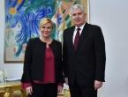 Čović i Kolinda razgovarali o hitnoj izmjeni Izbornog zakona BIH