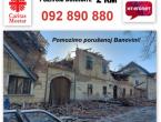 Caritas i HT Eronet za porušenu Banovinu