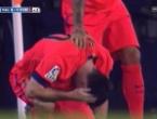Messi dobio bocu u glavu i još žuti karton jer se žalio