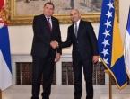 Rat u Predsjedništvu oko zastave RS-a: Komšić i Džaferović bijesni na Dodika
