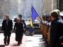 Predsjednica RH svečano dočekana u Sarajevu