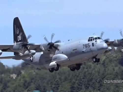Iznad Japana se srušila dva američka vojna aviona. Traje potraga za marincima