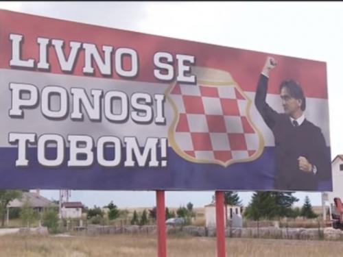 Pomjeren doček izbornika Dalića u Livnu