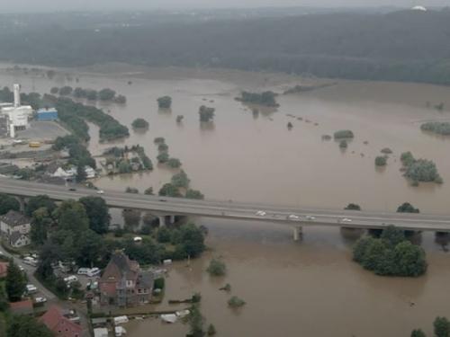 Pukla brana na rijeci Ruhr- stanje u Njemačkoj sve dramatičnije