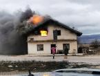 Ugašen požar na obiteljskoj kući u Tomislavgradu!