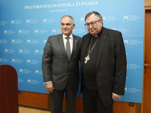 Kardinal Puljić: Hrvati u BiH žele biti jednakopravni