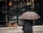 Kiša, susnježica i snijeg