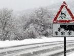 Zbog snijega zatvorene pojedine dionice cesta u BiH