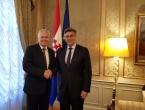 Čović se susreo s Plenkovićem i ministricom vanjskih poslova Pejčinović-Burić