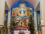 Božićna čestitka: Franjevački samostan Rama Šćit
