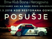 Poziv na prvo BMW druženje kluba Bosna i Hercegovina