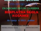 HKK Rama: Upišite se u besplatnu školu košarke