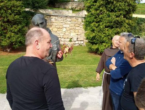 Thompson u posjetu Hrvatima Lašvanske doline