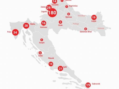 U Hrvatskoj 382 slučaja, samo 2 županije bez zaraženih. Velike gužve na ulazu u Split