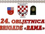 NAJAVA: 24. obljetnica brigade 'Rama'