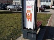Tomislavgrad: Pametna klupa nastradala u borbi s vrućom (manitom) glavom