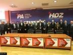 Predstavljeni HDZ-ovi ministri