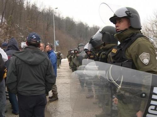 Borci nastavili prosvjede na M17