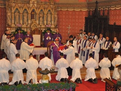 Josip Dedić iz župe Prozor zaređen za đakona