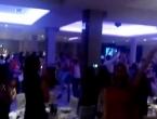 VIDEO: Ludnica na još jednoj hercegovačkoj svadbi nakon pobjede Hrvatske