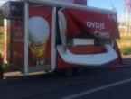 Tomislavgrad: Pokretni štand s točionicom piva umalo ubio vozača kamiona