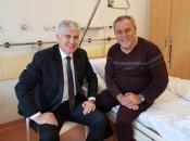 Čović posjetio Bandića u bolnici
