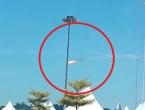 VIDEO: Frontalan sudar aviona