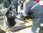 Ramski vatrogasci vježbali spašavanje ozlijeđenih u prometnoj nesreći