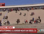 Stotine migranata pokušava ući u SAD