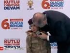 Erdogan: Ako umreš u borbi, stavit ćemo zastavu na tebe, daj bože
