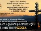 NAJAVA: Obilježavanje 28. obljetnice stradanja Hrvata u Uzdolu