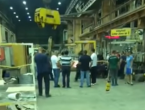Radnici Aluminija snimili trenutak kad je u pogonu isključena struja