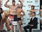 Sve je spremno za borbu: Cro Cop i Kosaka prošli vagu, Mirko 9 kila teži!
