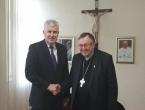 Čović se sastao s kardinalom Puljićem