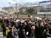 Stotine studenata u Sarajevu izašlo na ulicu