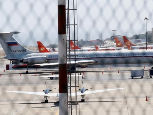 Ruski zrakoplovi s vojnicima sletjeli u Venezuelu