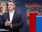 Prvi neslužbeni rezultati DIP-a: Milanović 54,01 posto, Grabar-Kitarović 45,99