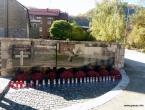 Gračac - blagoslovljen spomenik svim poginulim u II. svjetskom i Domovinskom ratu