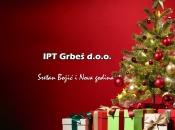 Božićna čestitka: IPT Grbeš d.o.o.