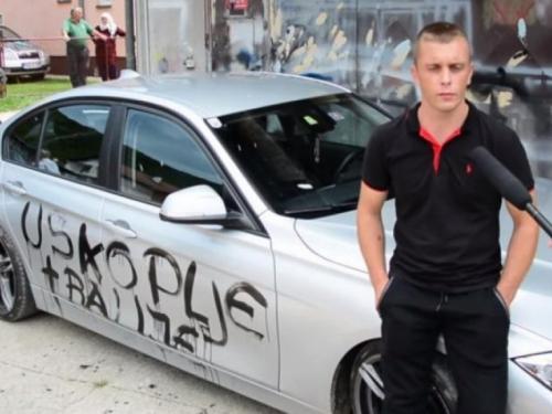 Tvorac uvredljivih grafita Adis Pokvić pušten na slobodu