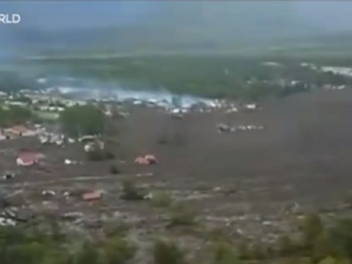 VIDEO: Bujica blata uništila selo u Čileu