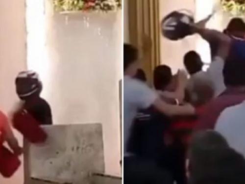 Muškarac pokušao vandalizirati crkvu uoči svete mise: Nije se baš dobro proveo