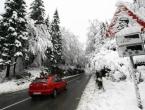 Smetovi i jaka bura zatvorili cestu Prozor-Tomislavgrad
